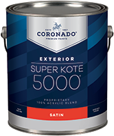 Alamo Paint & Decorating® Super Kote 5000 Exterior is designed to cover fully and dry quickly while leaving lasting protection against weathering. Formerly known as Supreme House Paint, Super Kote 5000 Exterior delivers outstanding commercial service.boom